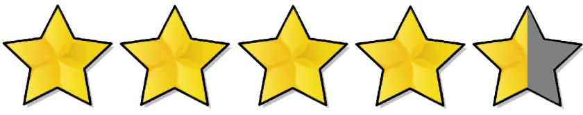 4-5stars